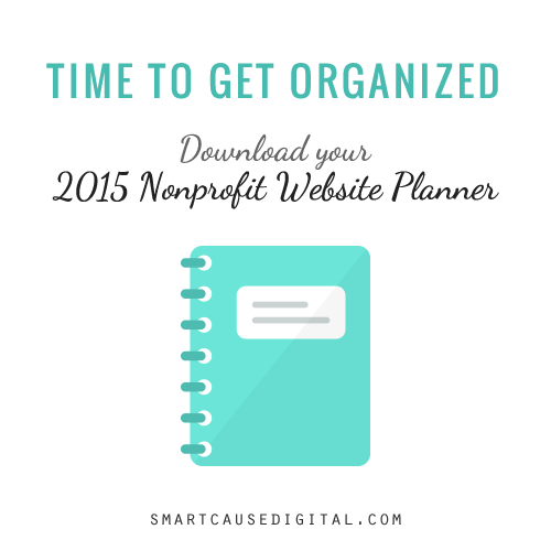 Download your 2015 nonprofit website planner