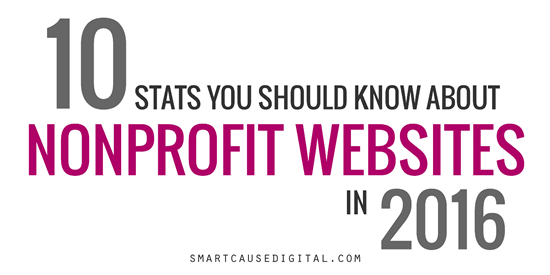 10 Stats You Should Know About Nonprofit Websites in 2016